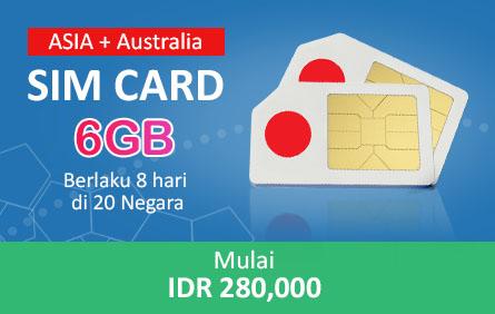Sim Card Asia Plus Australia