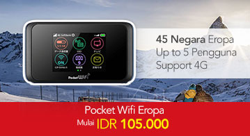 Pocket Wifi Eropa