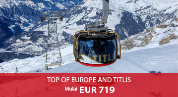 Top Of Europe And Titlis