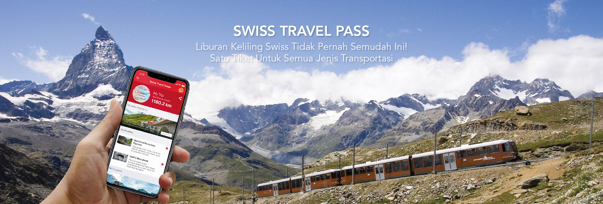 Swiss Travel Pass Continuous